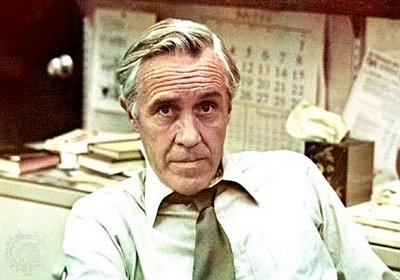 Jason Robards portraying Washington Post Editor Ben Bradley in All The President's Men