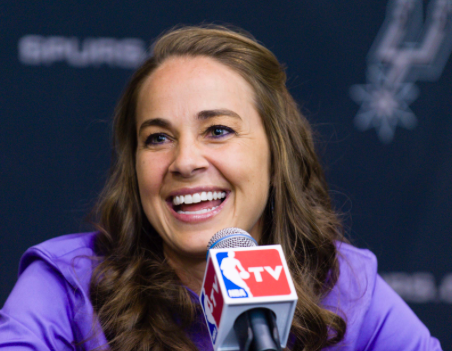 San Antonio Spurs Hire First Ever Female Assistant Coach