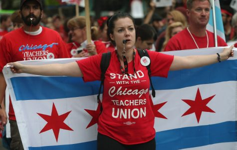 Thousands of Chicago Teachers Strike