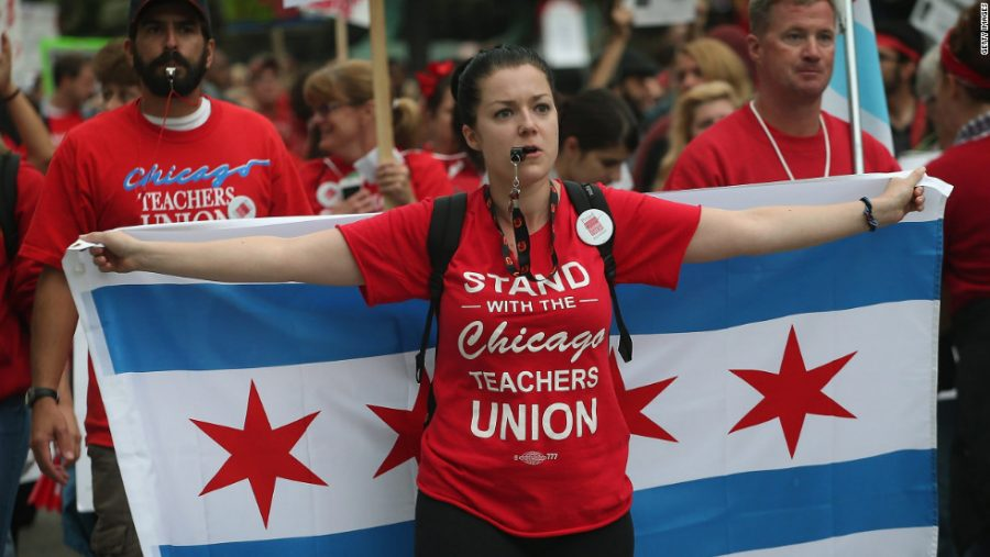 Thousands+of+Chicago+Teachers+Strike