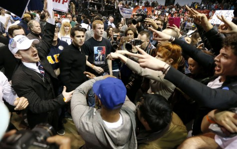 Violence Erupts at Chicago Trump Rally