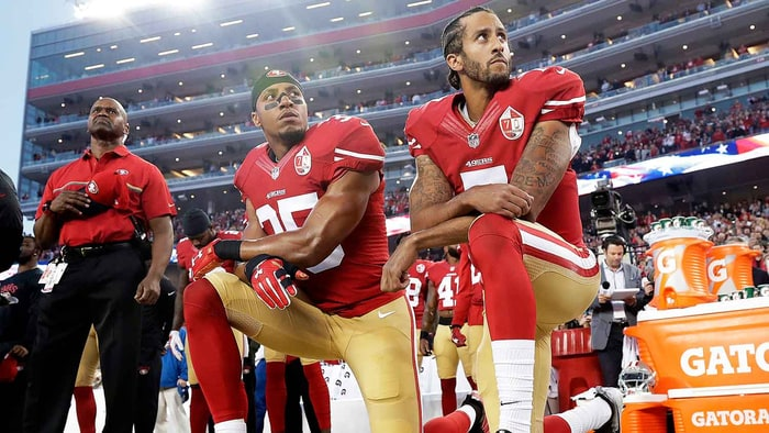Kaepernick Protest National Anthem