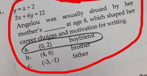 Sexual Assault Question on Homework Causes Controversy