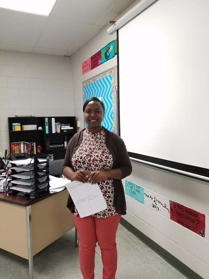 Meet the New Teachers! - Latikia Evans