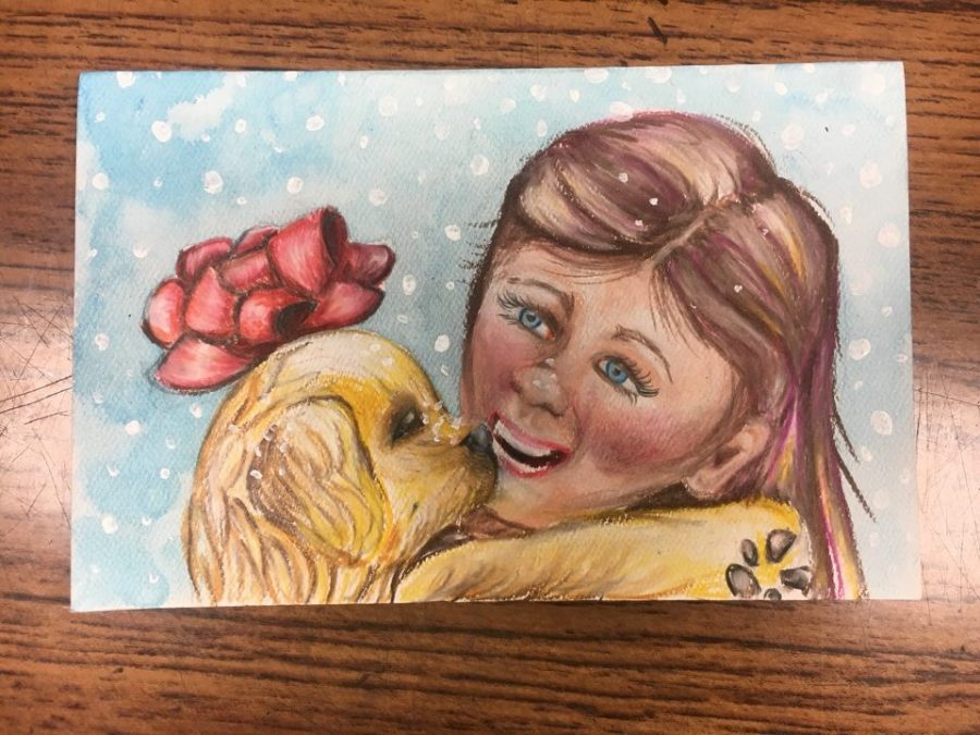 Honors Art Christmas Cards!