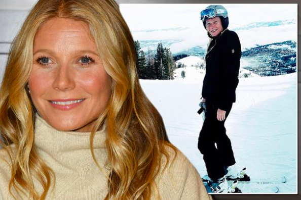 Gwyneth Paltrow-Bandit on the Bunny Slope