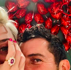 Katy Perry and Orlando Bloom: A Valentine's Day Proposal