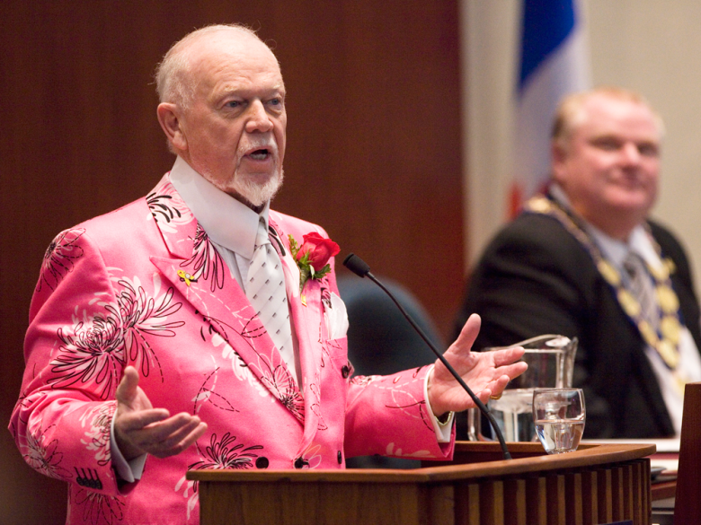 Ranking Don Cherry's Best Suits