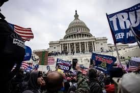 Disenfranchised Mob Attacks U.S. Capitol, Leaving 5 Dead